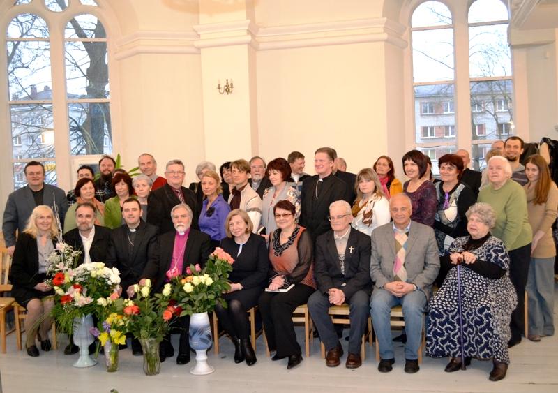 Bīskapa Pāvila Brūvera 65 gadu jubilejas svinības