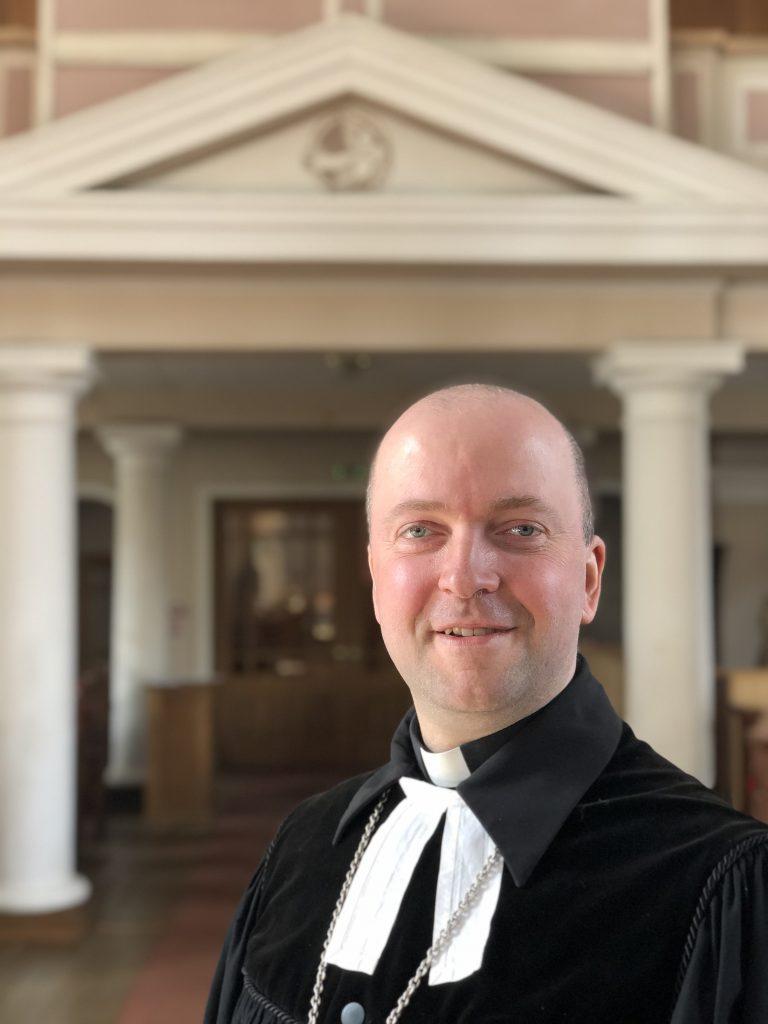 Valdis Vircavs Jelgavas Sv. Annas evaņģēliski luteriskā draudzes mācītājs